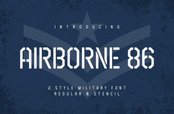 Airborne 86 Sans Font