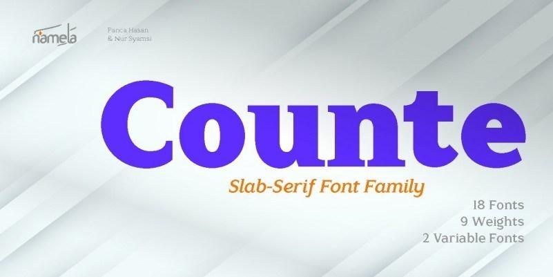 Counte-Font-1