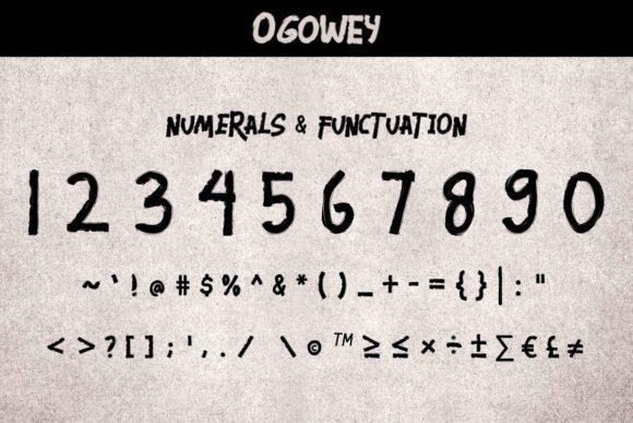 Ogowey-Font-4