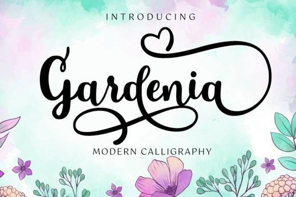 Gardenia Modern Calligraphy Font