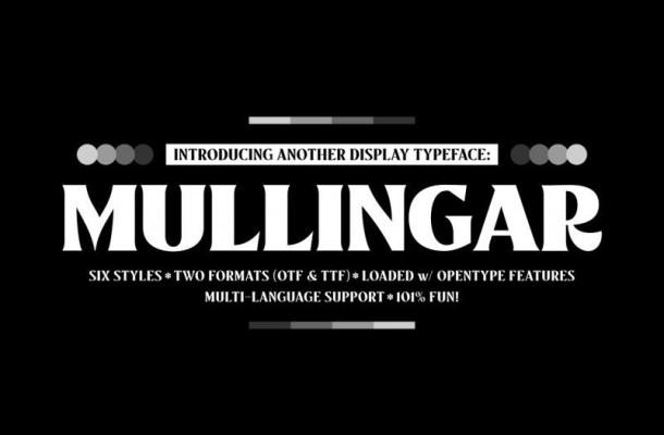 Mullingar Display Typeface