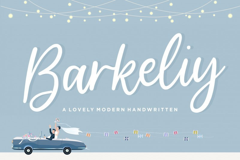 Barkeliy-Handwritten-Font-1