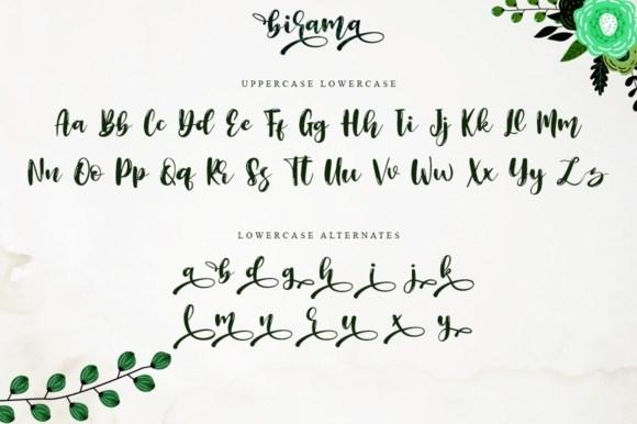 Birama-Calligraphy-Script-Font-3