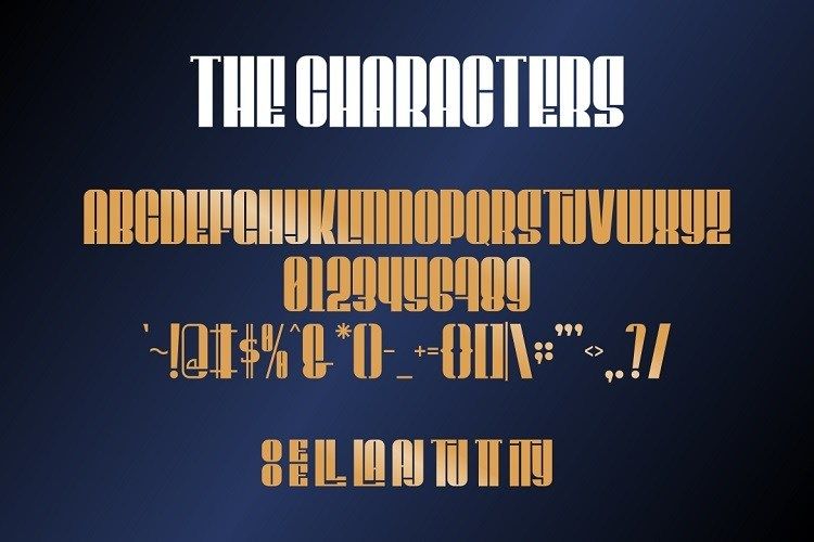 CEDRIC-Display-Font-3