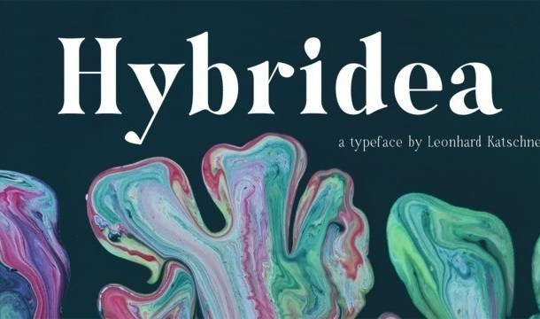 Hybridea Serif Font Family