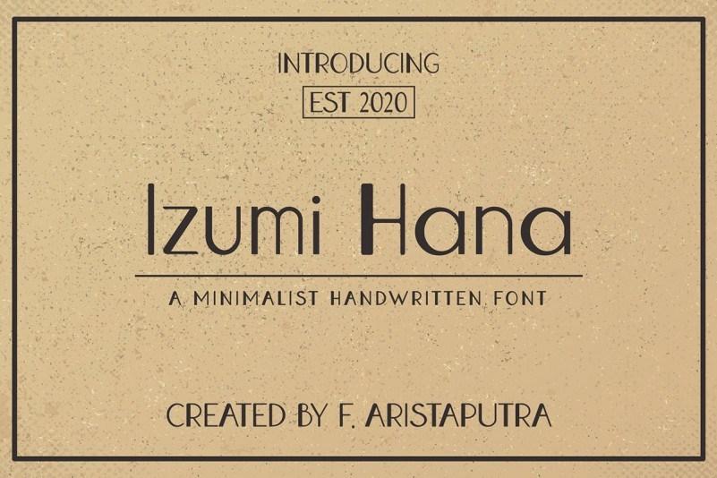 Izumi-Hana-Sans-Serif-Font-1