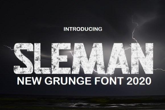 SLEMAN Display Font