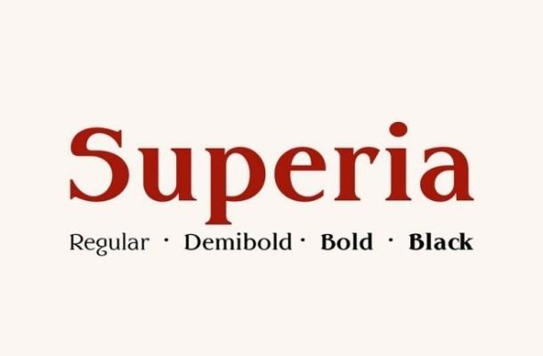 Superia Serif Font Family