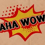 A Aha Wow Display Font