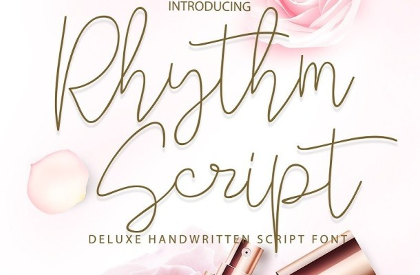Rhythm Handwritten Script Font
