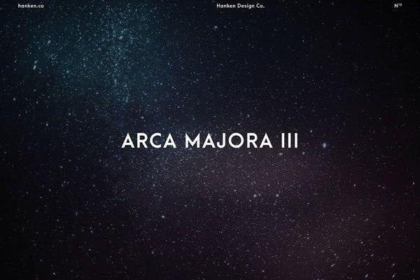 Arca Majora 3 Sans Serif Font