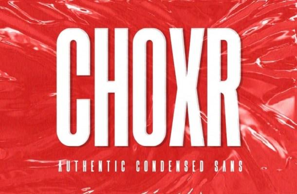 Choxr Sans Serif Font