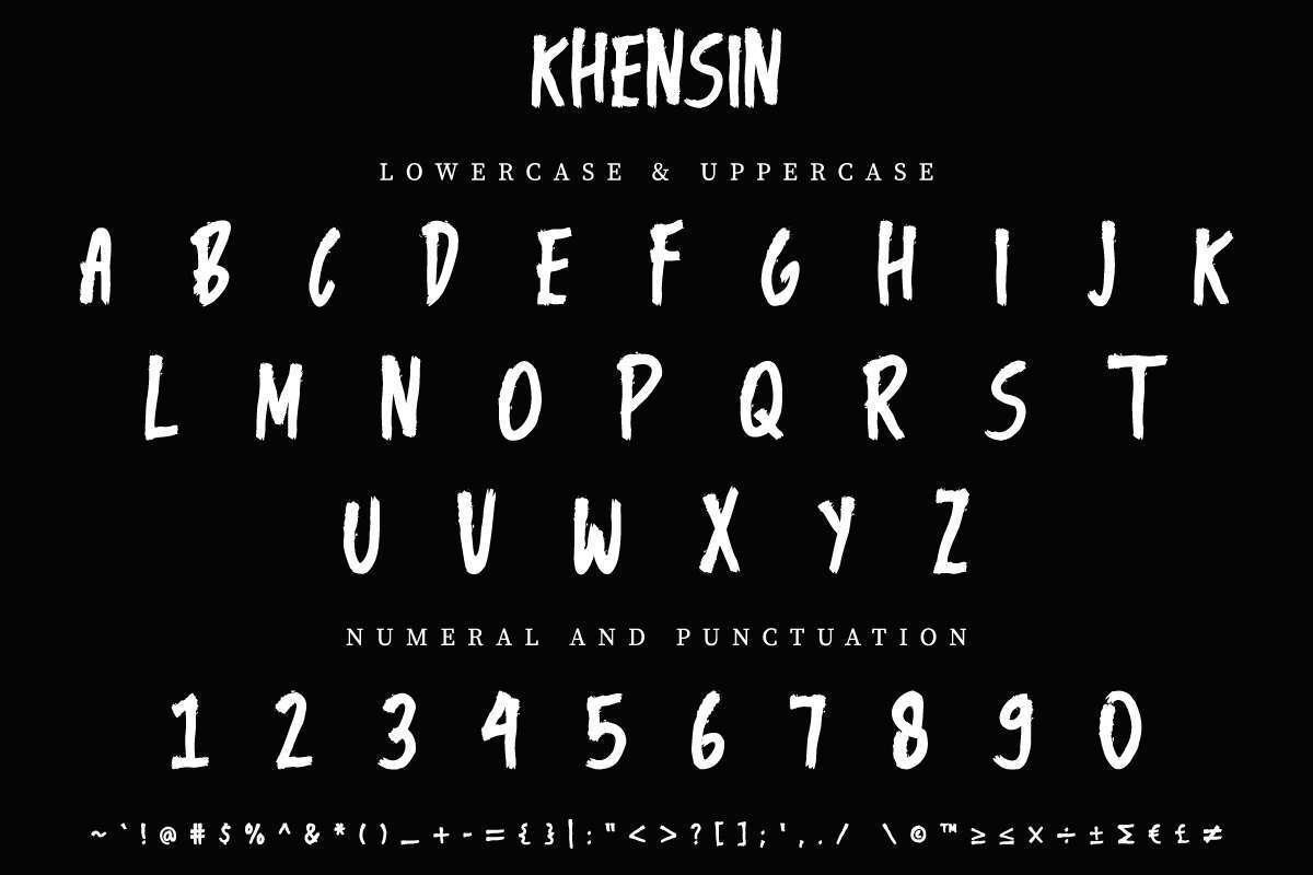 Khensin-Brush-Script-Font-2