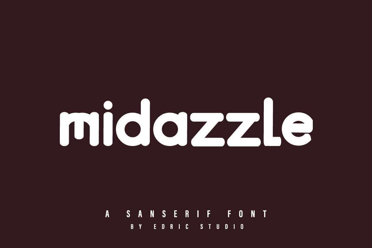 Midazzle-Sans-Serif-Font-1