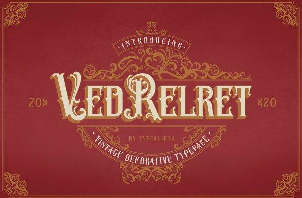 Ved-Relret-Decorative-Display-Font-1