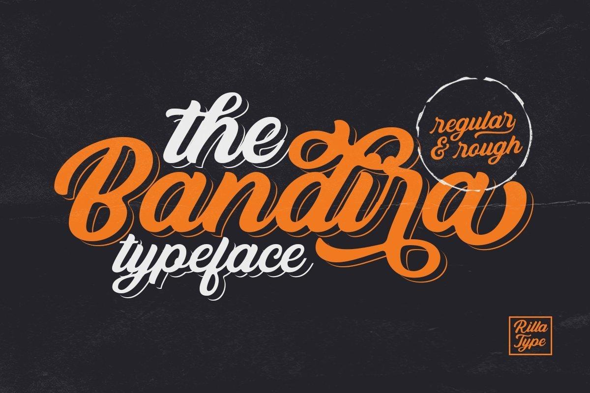 Bandira-Script-Typeface-1