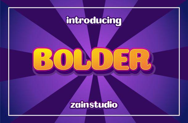Bolder-Bold-Display-Font-1