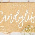 Candylife Handwritten Script Font