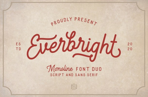 Everbright Font Duo