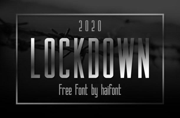 Lockdown Sans Serif Font
