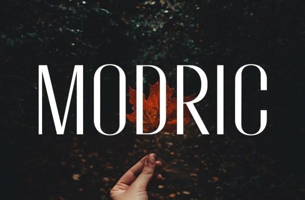 Modric Sans Serif Typeface