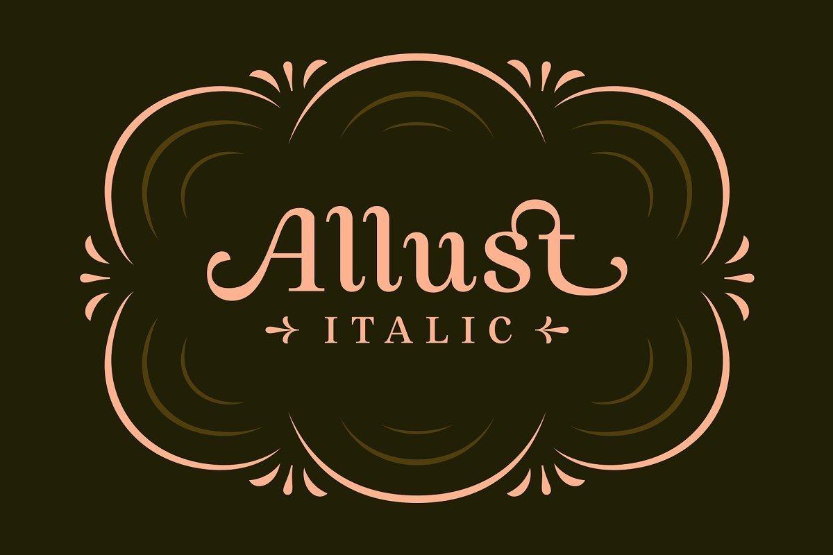 Allust-Serif-Typeface-1