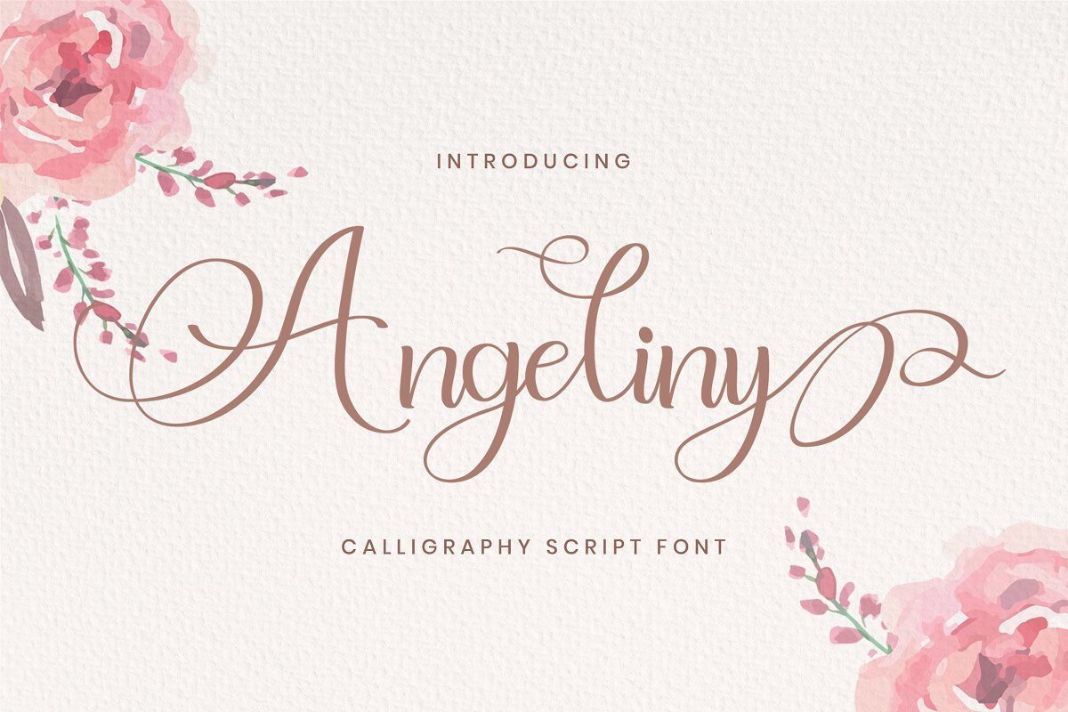 Angeliny-Calligraphy-Script-Font