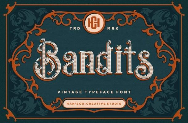 Bandits-Blackletter-Vintage-Typeface-1
