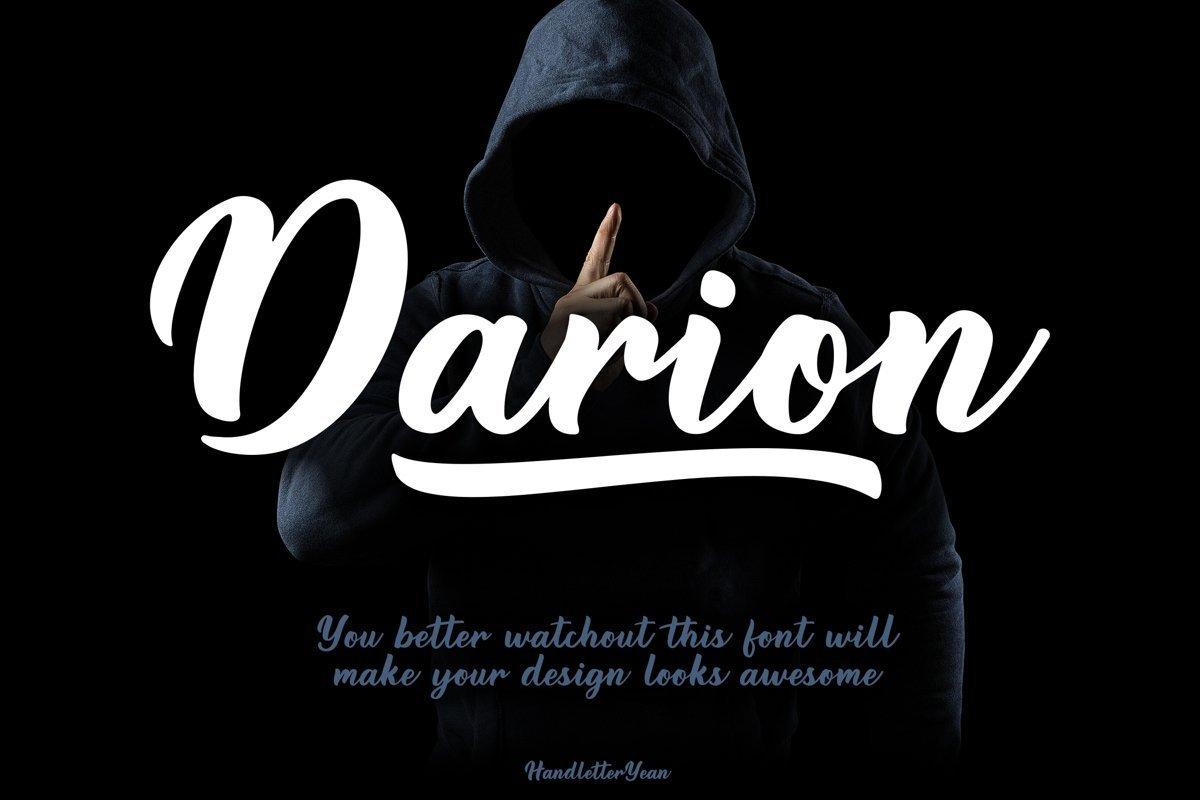 Darion-Handwritten-Script-Font-1
