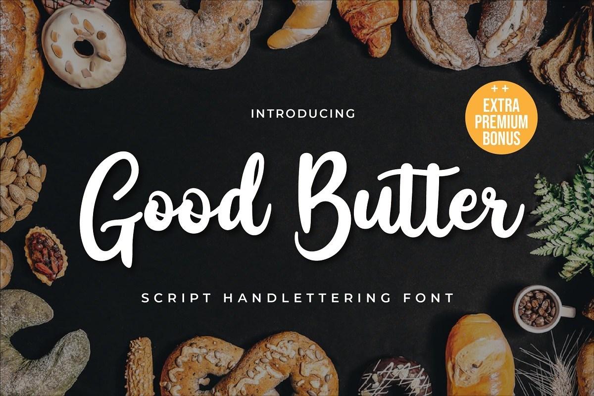 Good-Butter-Handwritten-Script-Font