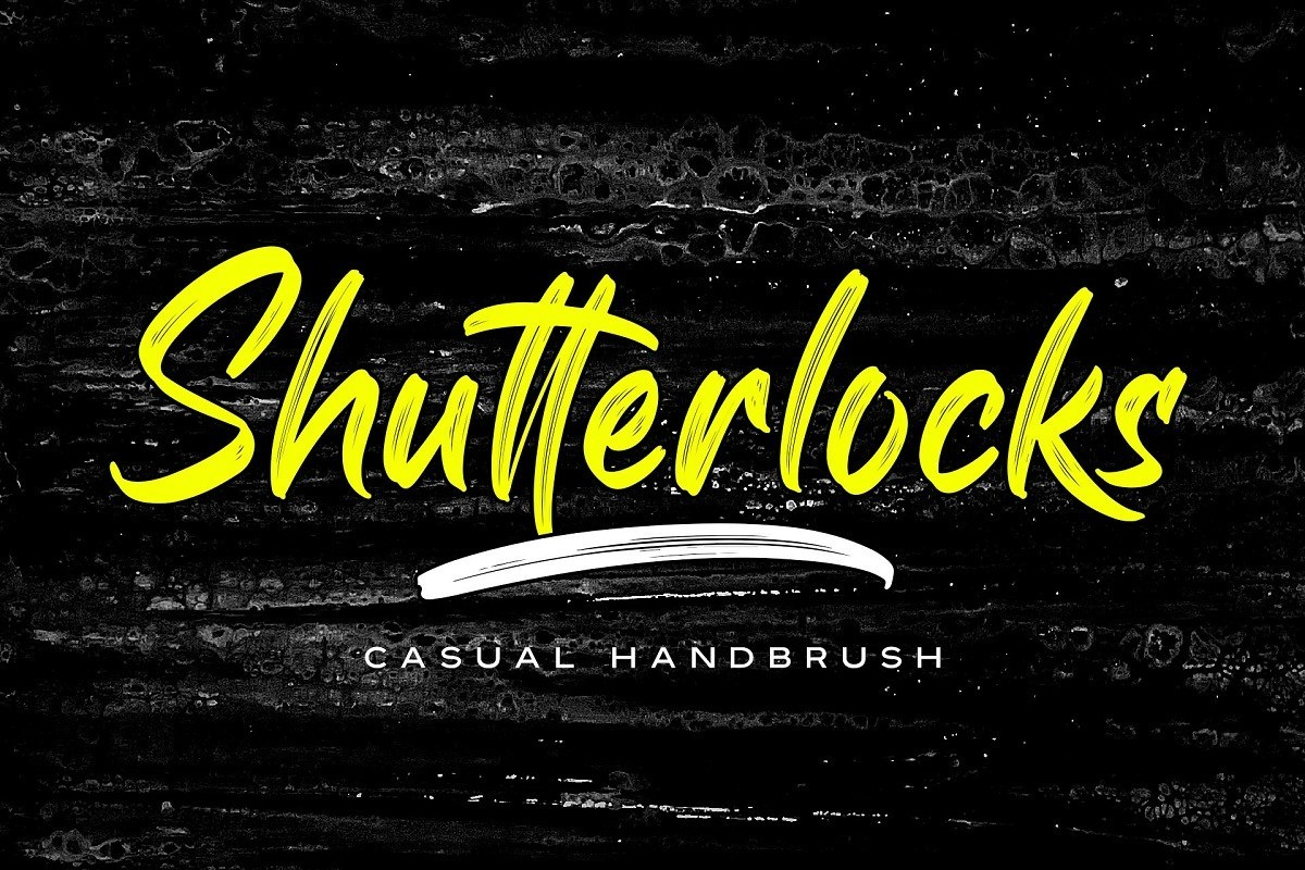 Shutterlocks-Casual-Handbrush-Script-Font-1