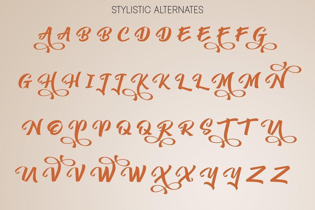 Yambag-Modern-Script-Font-3