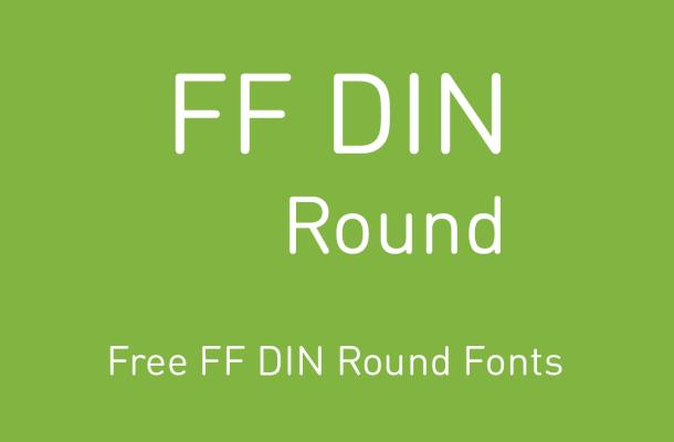 FF DIN Round Font