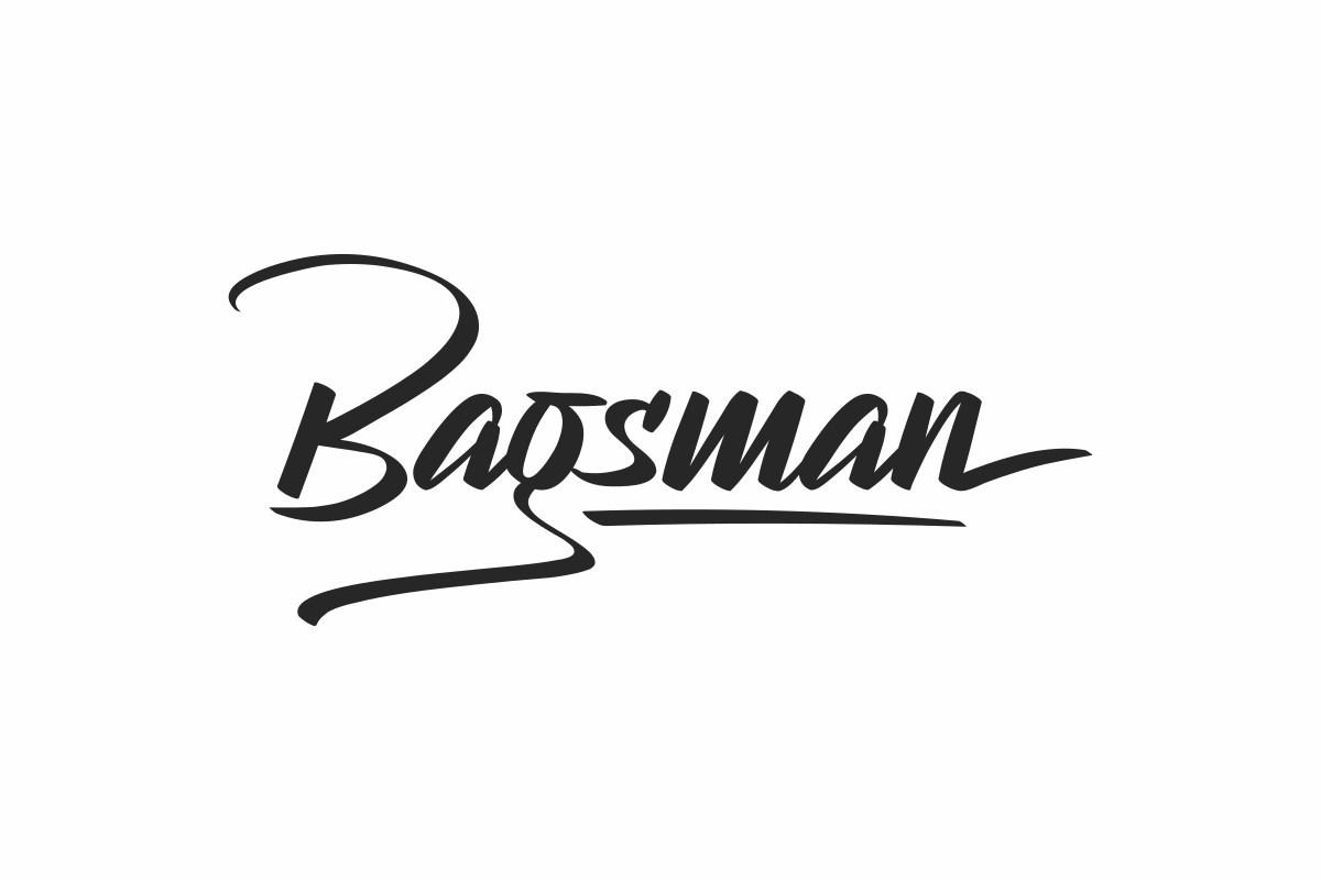 Bagsman-Modern-Script-Font