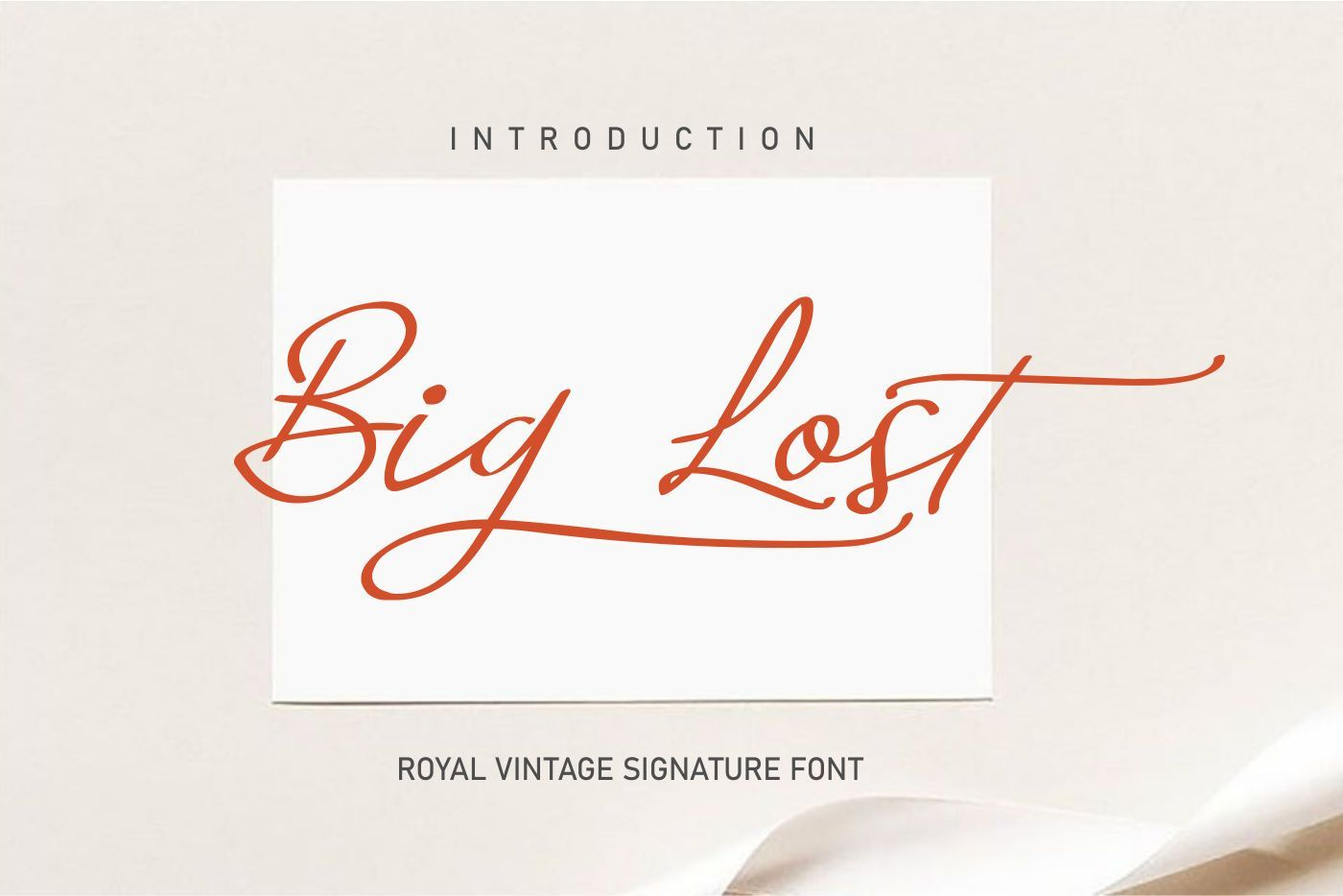 Big-Lost-Royal-Vintage-Signature-Font