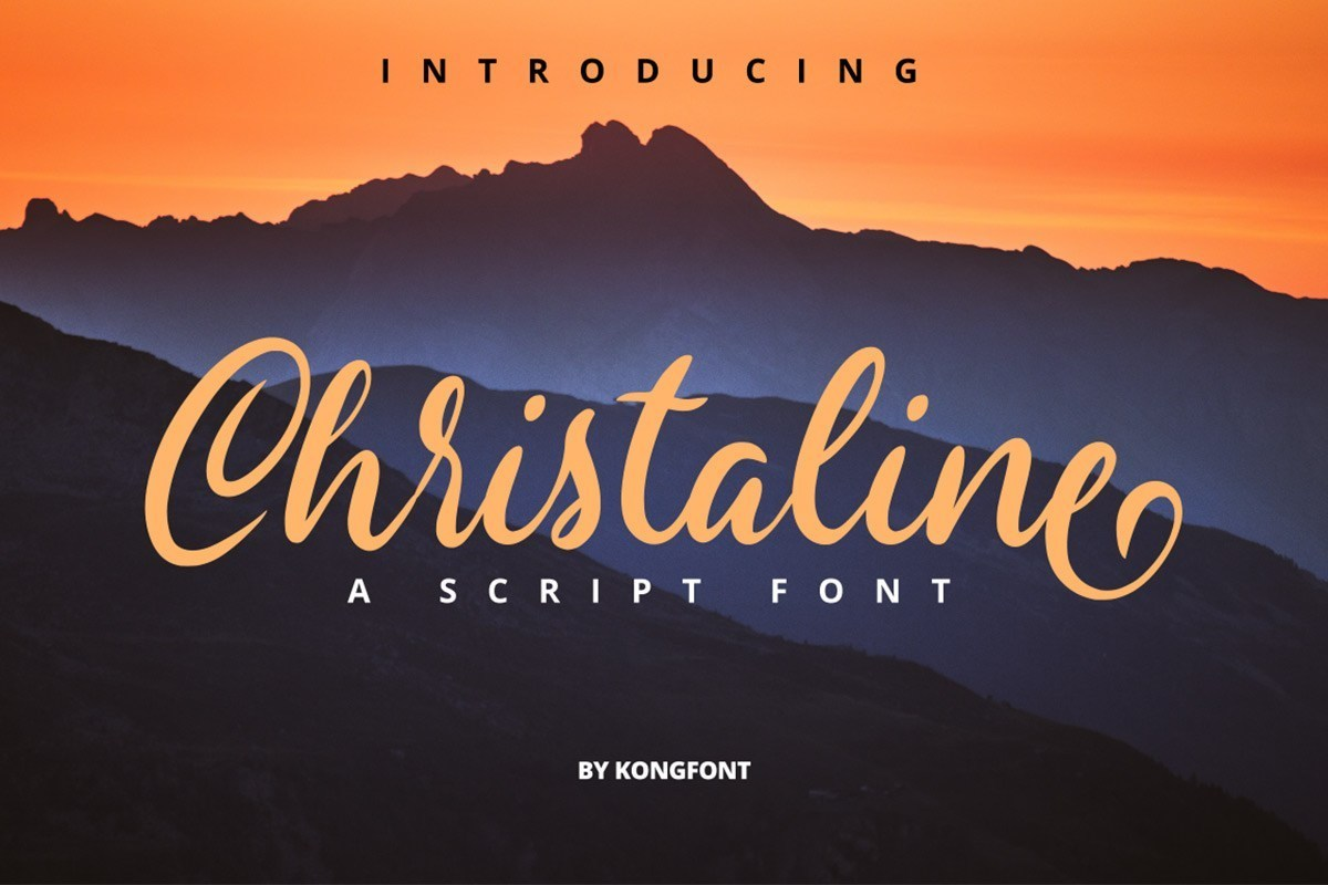 Christaline-Script-Font
