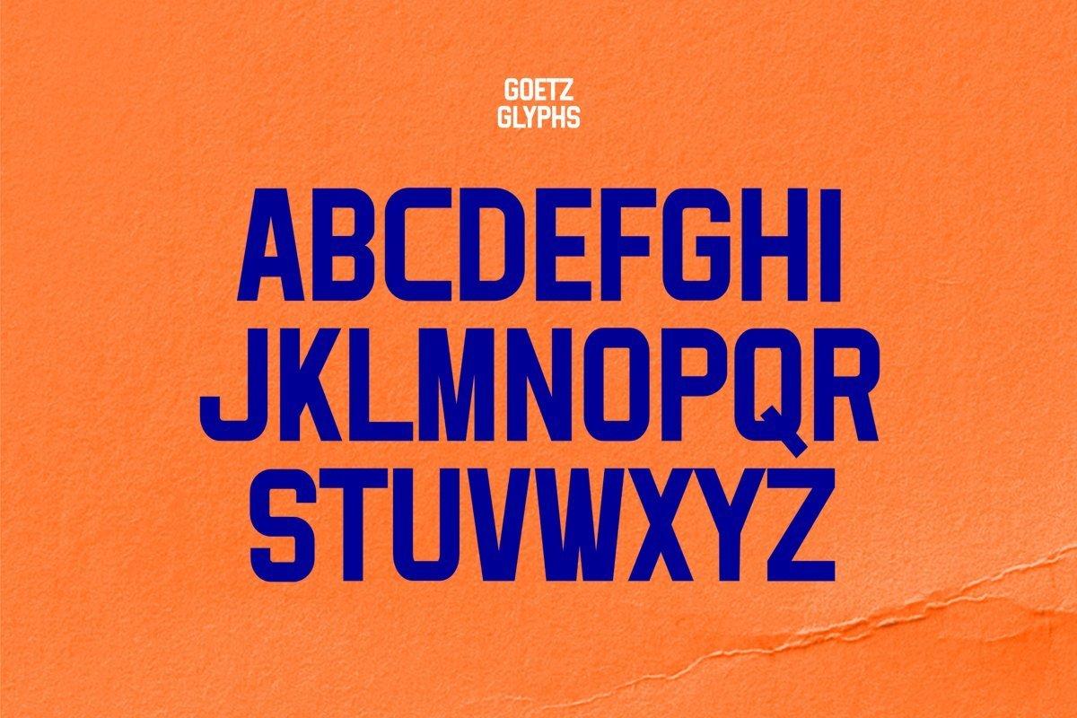 Goetz-Condensed-Display-Font-3