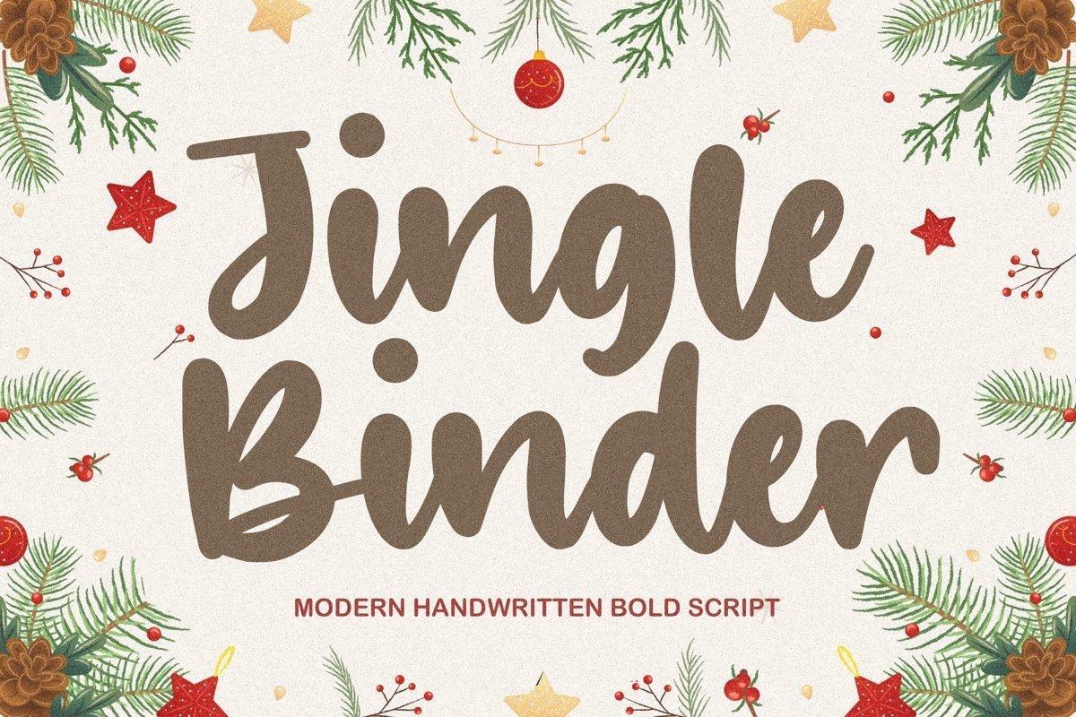 Jingle-Binder-Handwritten-Bold-Script-Font