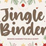 Jingle Binder Bold Handwritten Font