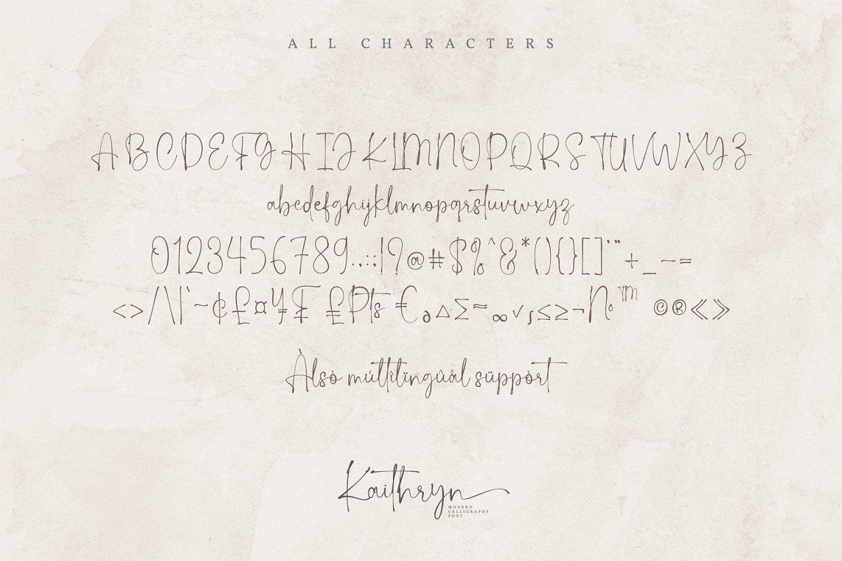 Kaithryn-Handwritten-Script-Font-3
