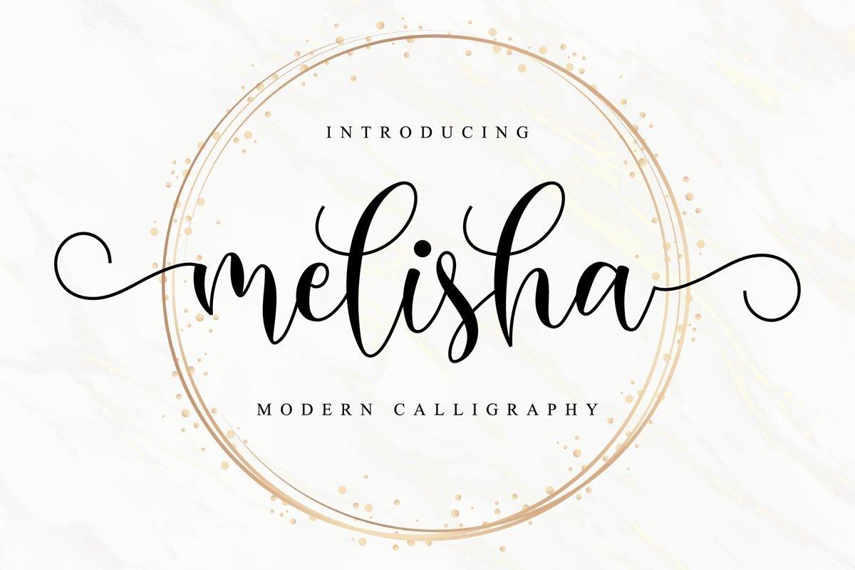 Melisha-Modern-Calligraphy-Script-Font