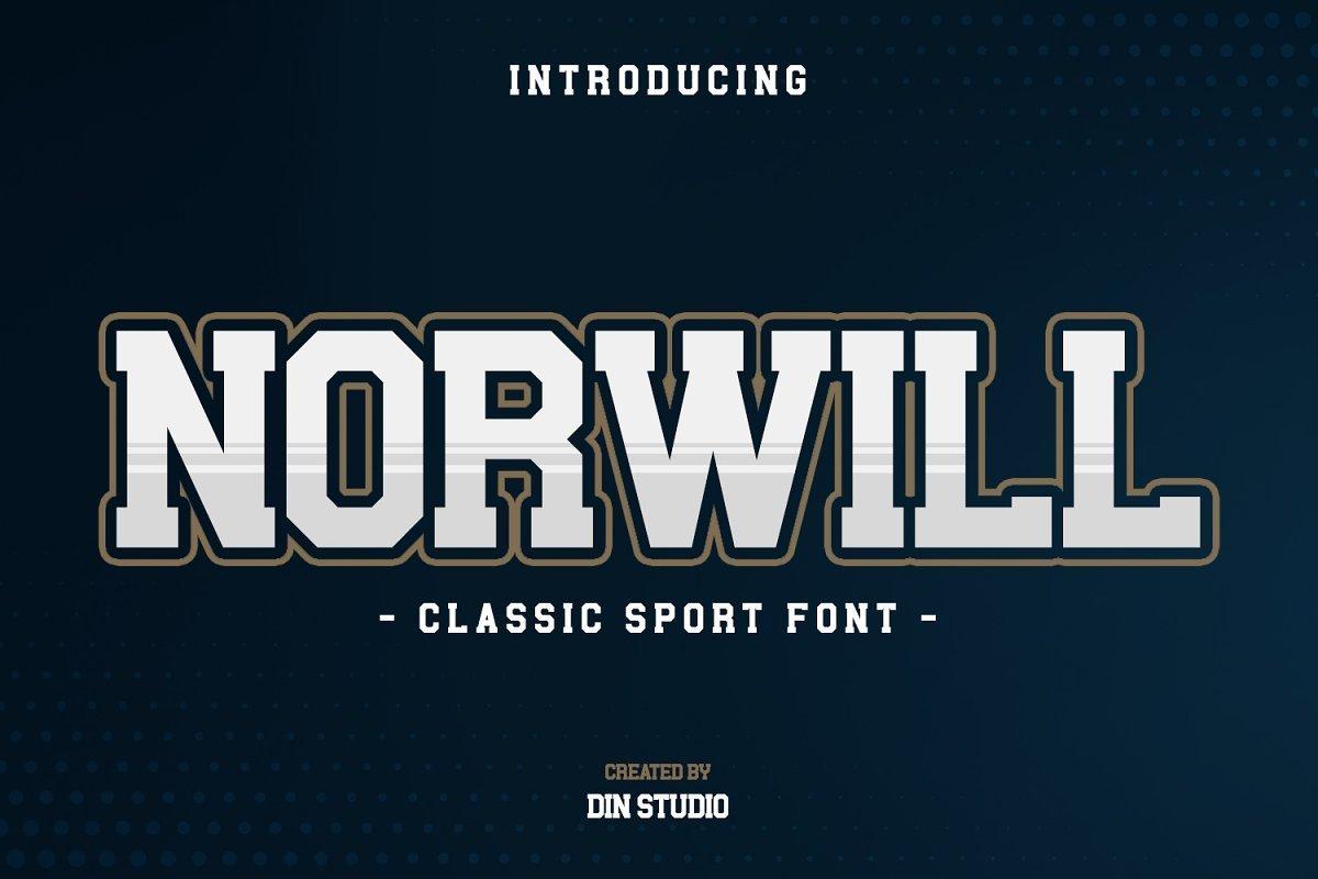 Norwill-Classic-Sport-Display-Font