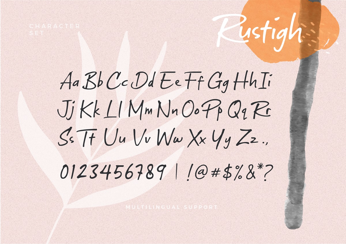 Rustigh-Handwritten-Typeface-3