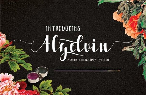 Alzelvin Typeface