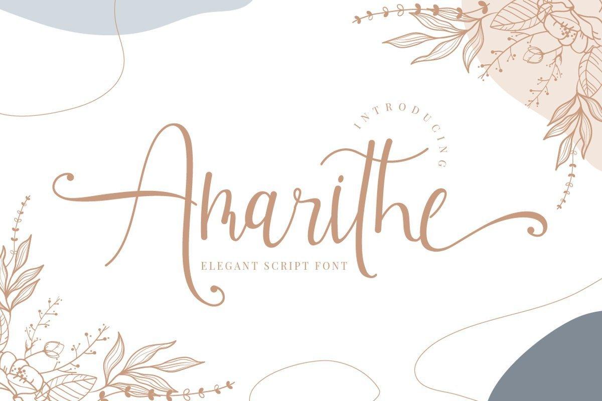 Amarithe-Font
