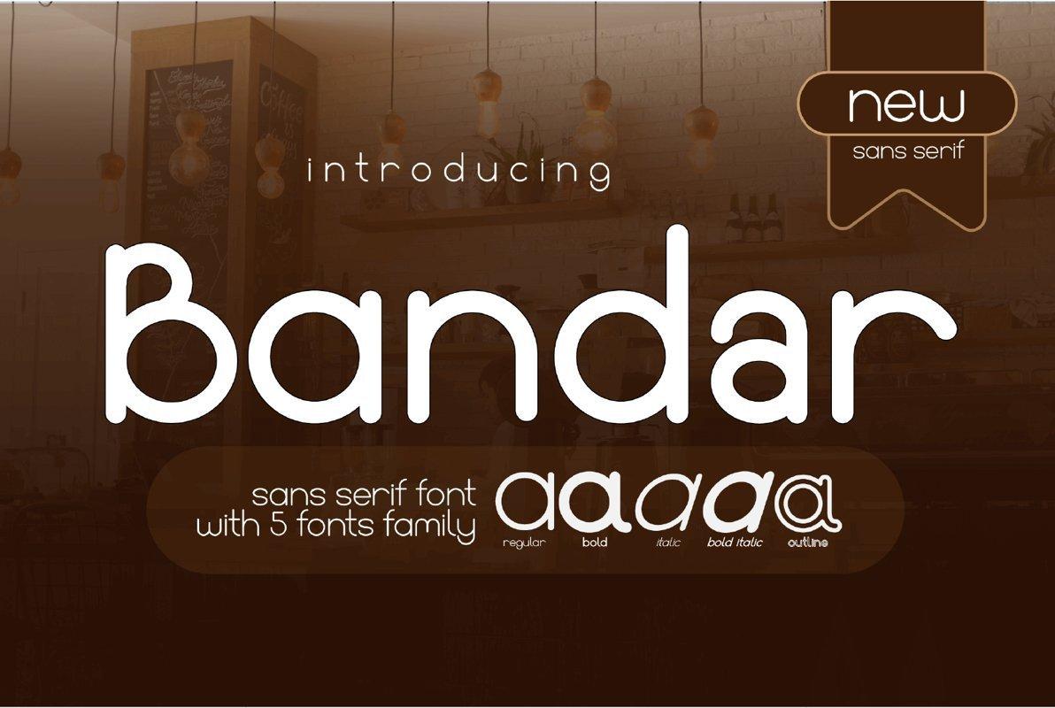 Bandar-Font-Family
