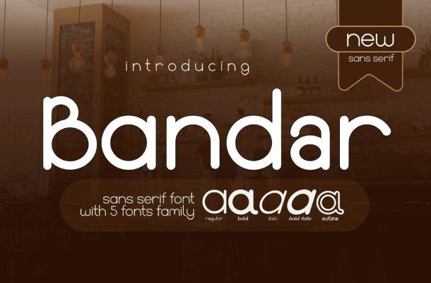 Bandar Font Family