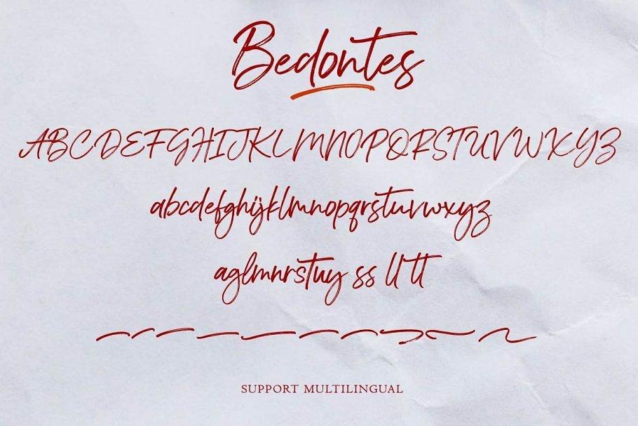 Bedontes-Handwritten-Brush-Font-3