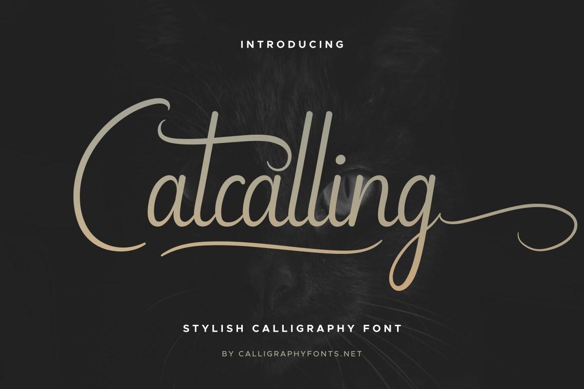 Catcalling-Font