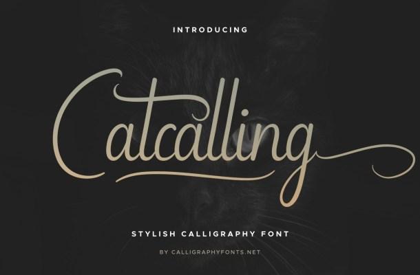 Catcalling Font